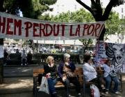 Mobilitzacions del 15M a Plaça Catalunya (Font: flickr.com)