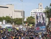 Una de les manifestacions del moviment 15M a Barcelona