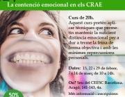 La contenció emocional en els CRAE
