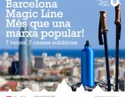 Èxit de participació i recaptació a la Barcelona Magic Line