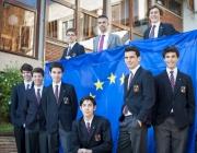 'equip d'alumnes de 4t d'ESO que s'ha presentat al concurs Euroscola