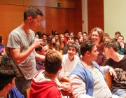 Participants del projecte Imagina, que pretén que els participants construeixin futur, participin, liderin, i s'impliquin en la seva ciutat. Foto: Ajuntament de Sant Boi
