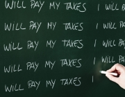 La plataforma aposta per un sistema solidari sense evasió fiscal. Font: spectator.co.uk