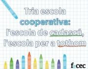 Escoles cooperatives. Font: Plana web de FeCEC