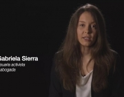 Gabriela Serra, usuària de cànnabis en la presentació de la campanya #CannabisResponsable