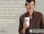 Imatge campanya #1milliodegracies. Font: web Fundació Arrels
