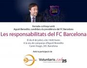 """Col·loqui: """"Les responsabilitats del FC Barcelona"""""""