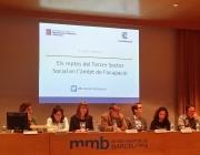 Presentació del I Baròmetre de l'Ocupació al Tercer Sector. Font: Suport Associatiu