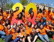 Celebració dels 20 anys de la Federació Catalana de l'Esplai. Font: Federació Catalana de l'Esplai