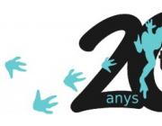 Logotip creat pels 20 anys del TEB