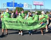 La plataforma denuncia l'impacte paisatgístic i ambiental que té el macroprojecte urbanístic. Font: Salvem el Calamot - Aturem el Pla de Ponent