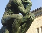 Home pensant de Rodin. Font: bloc de la qualitat democràtica