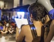 Marxa nocturna feminista per exigir unes Festes de Gràcia lliures d'agressions sexistes i anti-patriarcals