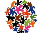 Dibuixos de persones simbolitzant acollida. Font: navahermosa.es