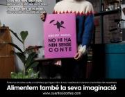 """Imatge de la campanya """"Aquest Nadal no hi ha nen sense conte"""""""