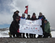 Les set alpinistes de Seven Summits Women Team
