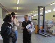 Foto_Membres de Minyons Escoltes i Guies visiten la Fundació Banc dels Aliments