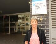 Montse Estruch és infermera jubilada que participa dues vegades a la setmana en el programa Grans Actius de la FCVS (Font: Liana Aguiar)