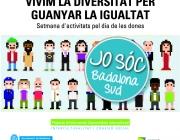 Imatge il·lustratiu del cartel Vivim la diversitat per guanyar la igualtat.