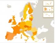 Mapa de la UE