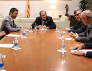 Equip de govern de la Generalitat reunit