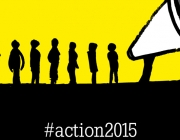 Imatge simbòlica del moviment Action 2015. Font: www.worldvision.org.uk