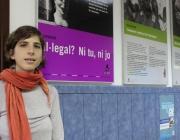 Alba Cuevas, directora de SOS Racisme, a la seu de l'entitat Font: