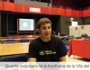 Albert Fisas és membre de l'entitat La Konfraria de la Vila del Pingüí