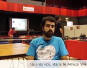 Àlex Hinojo és membre d'Amical Wikimedia, l'entitat catalana que regula la Viquipèdia.