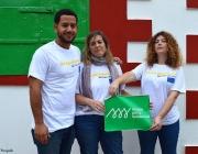 3 voluntaris d'Alianza por la Solidaridad EU Aid Volunteers