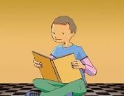 Amb el llibre sota el braç. Web Fundació Escola Cristiana