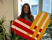 Andrea Álamo, responsable de comunicació de #GivingTuesday a Catalunya.