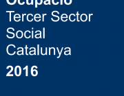 Portada de l'Anuari de l'ocupació del Tercer Sector Social de Catalunya'. Font: La Confederació