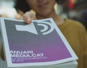 Fragment del vídeo de la campanya de micromecenatge de l'Anuari i Mèdia.cat.