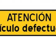 """""""Atenció Article defectuós"""". Cartell de la campanya d'ESF"""