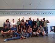 Foto de grup de participants a l'associació