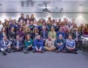 Foto de grup de l'assemblea anual de Telecentre Europe de l'any 2015
