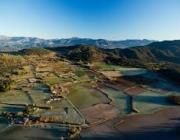 Paisatge de mosaic agroforestal a Catalunya (imatge; ub.edu)