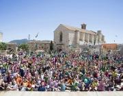 A la plaça Sant Francesc de Montblanc s'ha fet la cloenda de La Bajoca, la trobada de la Demarcació de Tarragona de Minyons Escoltes i Guies de Catalunya.