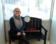 Rosa, una de les voluntàries del Banc del Temps del Raval. Imatge: Facebook del Banc.