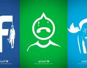 Campanya d'UNICEF de ciberassetjament a les xarxes socials.