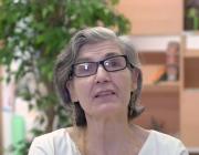 La Lluïsa és una de les 10 persones amb dèficit de memòria que participa en el vídeo.