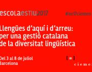 L'Escola d'Estiu del Ciemen es realitzarà del 3 al 8 de juliol a Barcelona