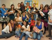 Foto de grup del grup de lactància del CAP Sant Rafael