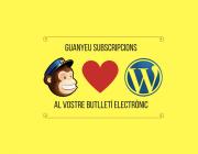 Guanyeu subscripcions al vostre butlletí electrònic