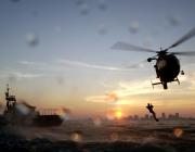 Rescat amb helicòpter.