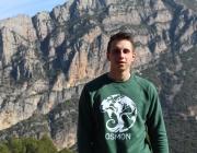 es de l'Associació Osmon de Lleida Miquel Gimeno treballa pel medi ambient  de la ciutat Font: Associació Osmon