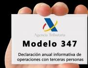 El Model 347 pot presentar-se fins al 28 de febrer.