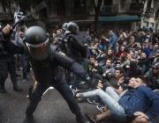 Agressions policials l'1 d'octubre.