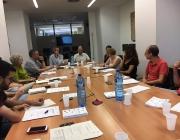 Trobada d'entitats participants en Programa Pilot d'Acompanyament a la Governança Democràtica organitzada l'any 2017.
